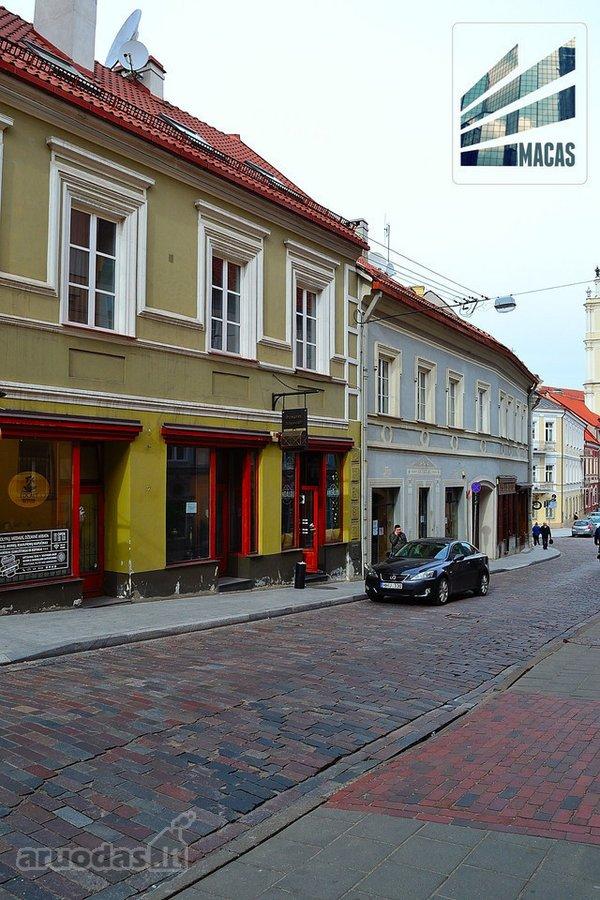 Vilnius, Senamiestis, Dominikonų g., maitinimo paskirties patalpos nuomai