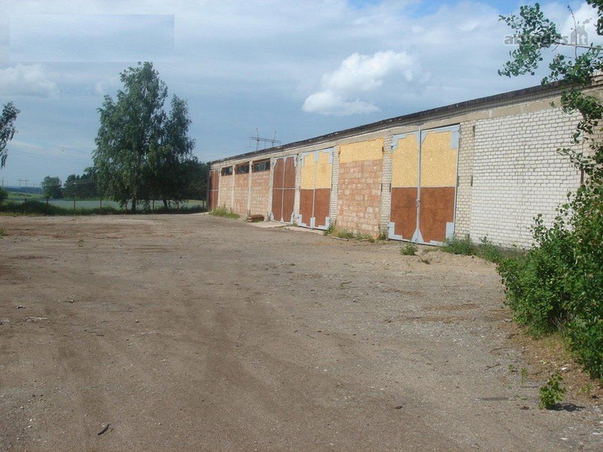 Vilniaus r. sav., Maišiagalos mstl., sandėliavimo, gamybinės paskirties patalpos nuomai