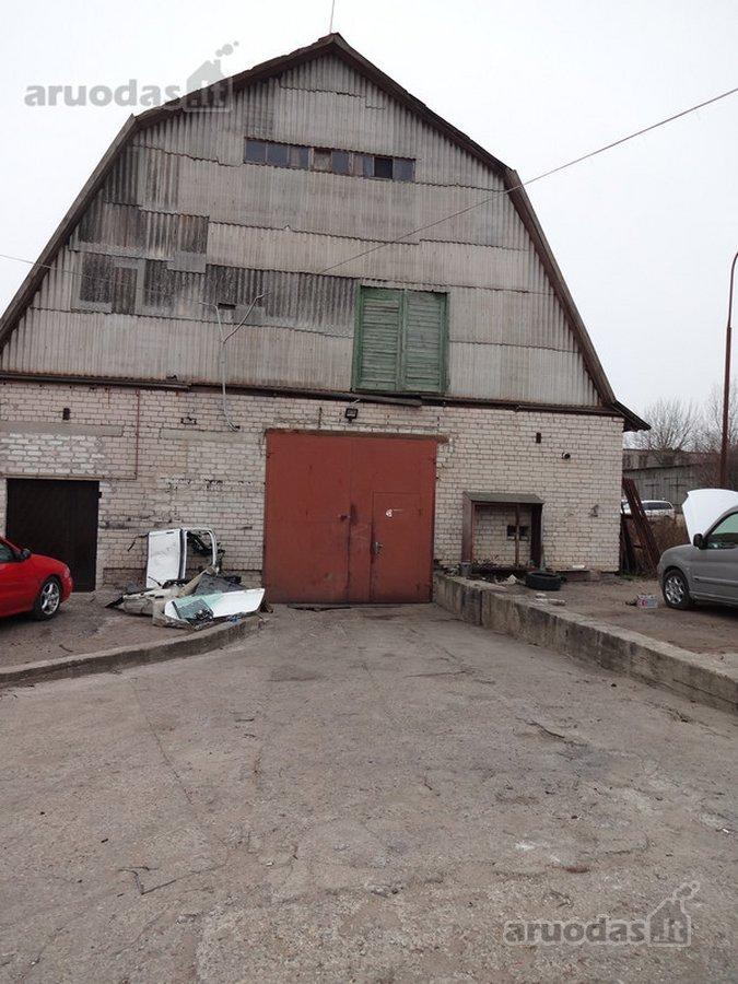 Kauno r. sav., Šakių k., Vandžiogalos pl., sandėliavimo, gamybinės, kita paskirties patalpos