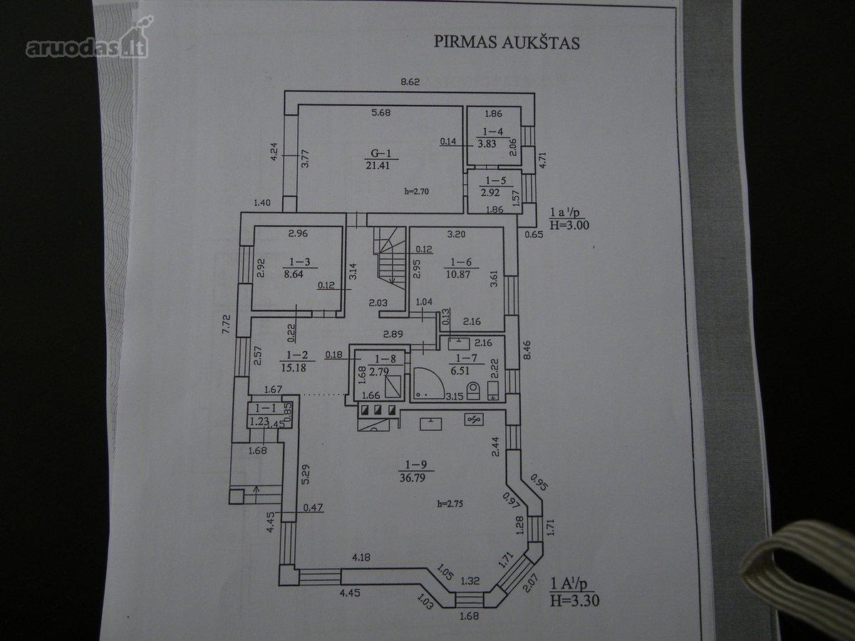 Kaunas, Žaliakalnis, J. Basanavičiaus al., biuro, viešbučių, paslaugų paskirties patalpos