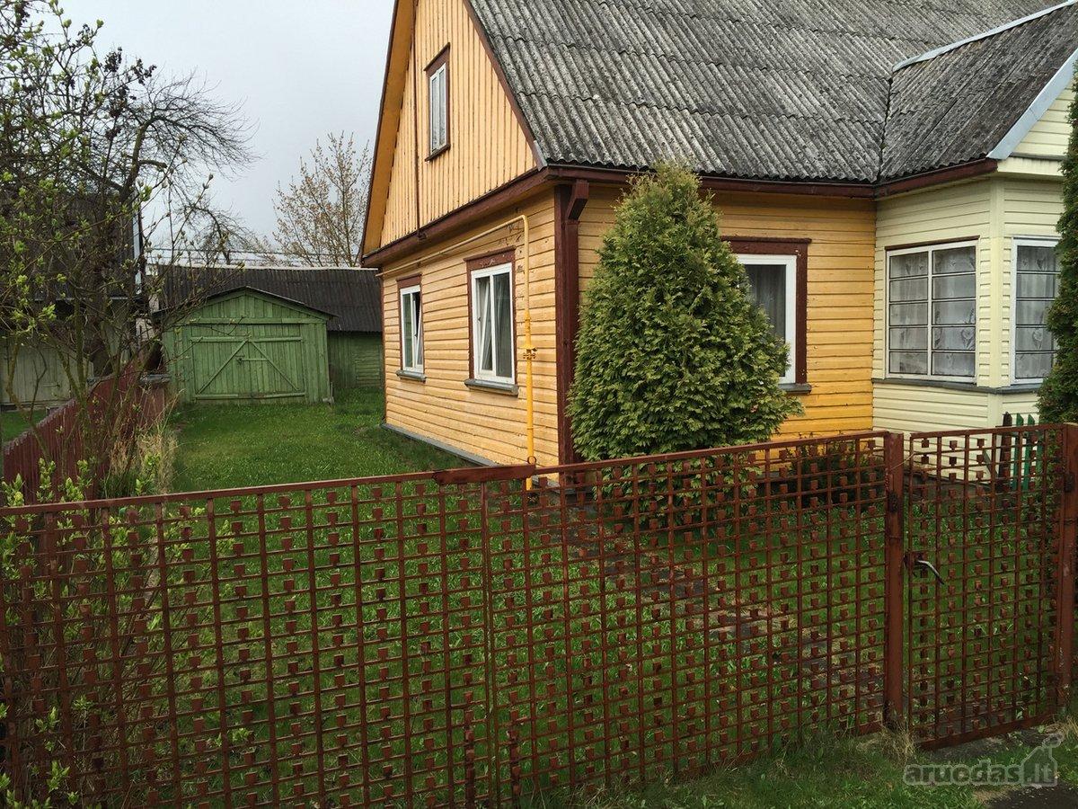 Ukmergės m., Žemaitės g., medinio namo dalis