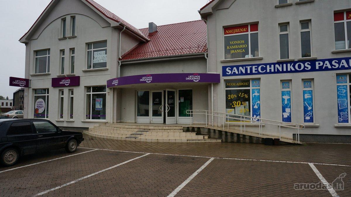 Joniškio m., Livonijos g., biuro, prekybinės, paslaugų paskirties patalpos nuomai