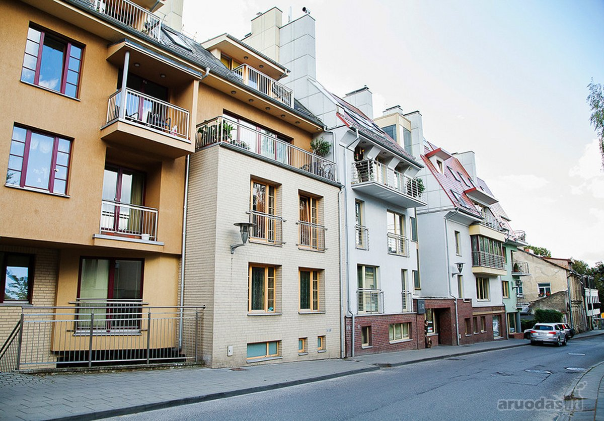 Vilnius, Užupis, Krivių g., 2 kambarių butas
