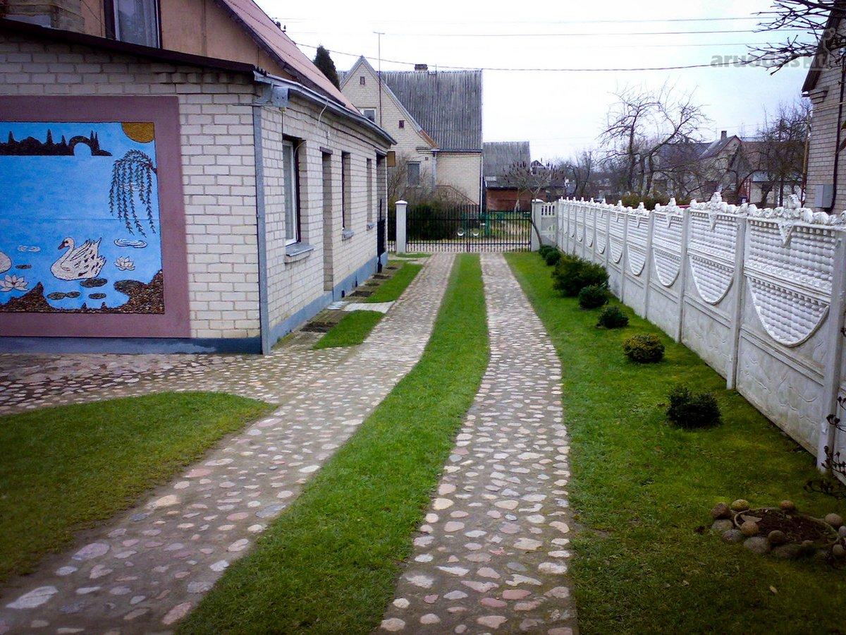Alytaus r. sav., Miklusėnų k., Pergalės g., brick house