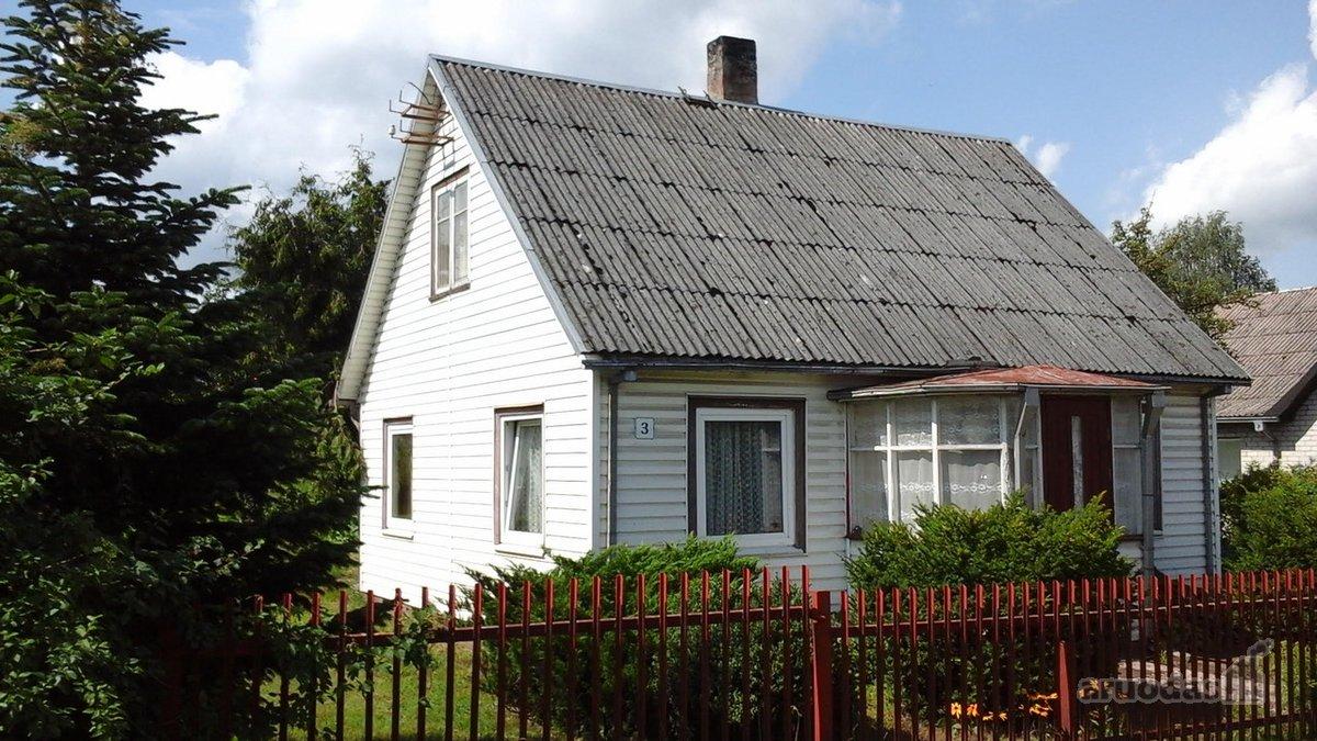 Kazlų Rūdos m., Gedimino g., medinis namas