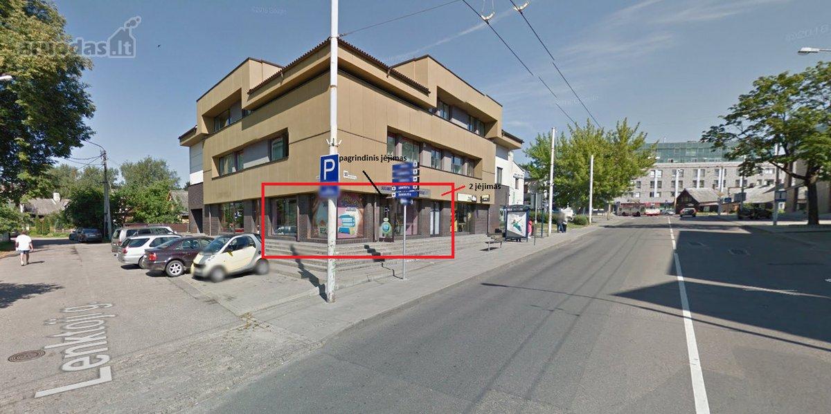 Vilnius, Žvėrynas, Kęstučio g., biuro, prekybinės, viešbučių, paslaugų, sandėliavimo, gamybinės, maitinimo, kita paskirties patalpos nuomai
