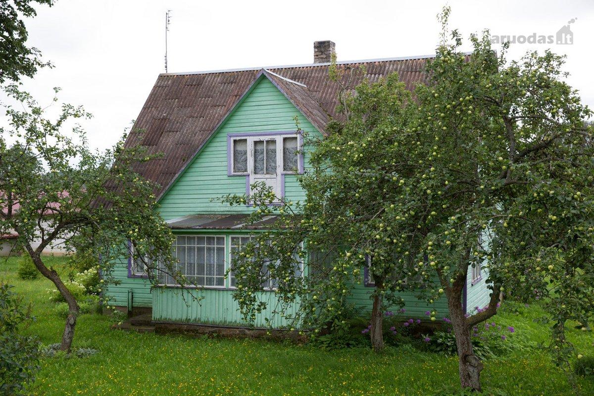 Alytaus r. sav., Tabalenkos k., rąstinis namas