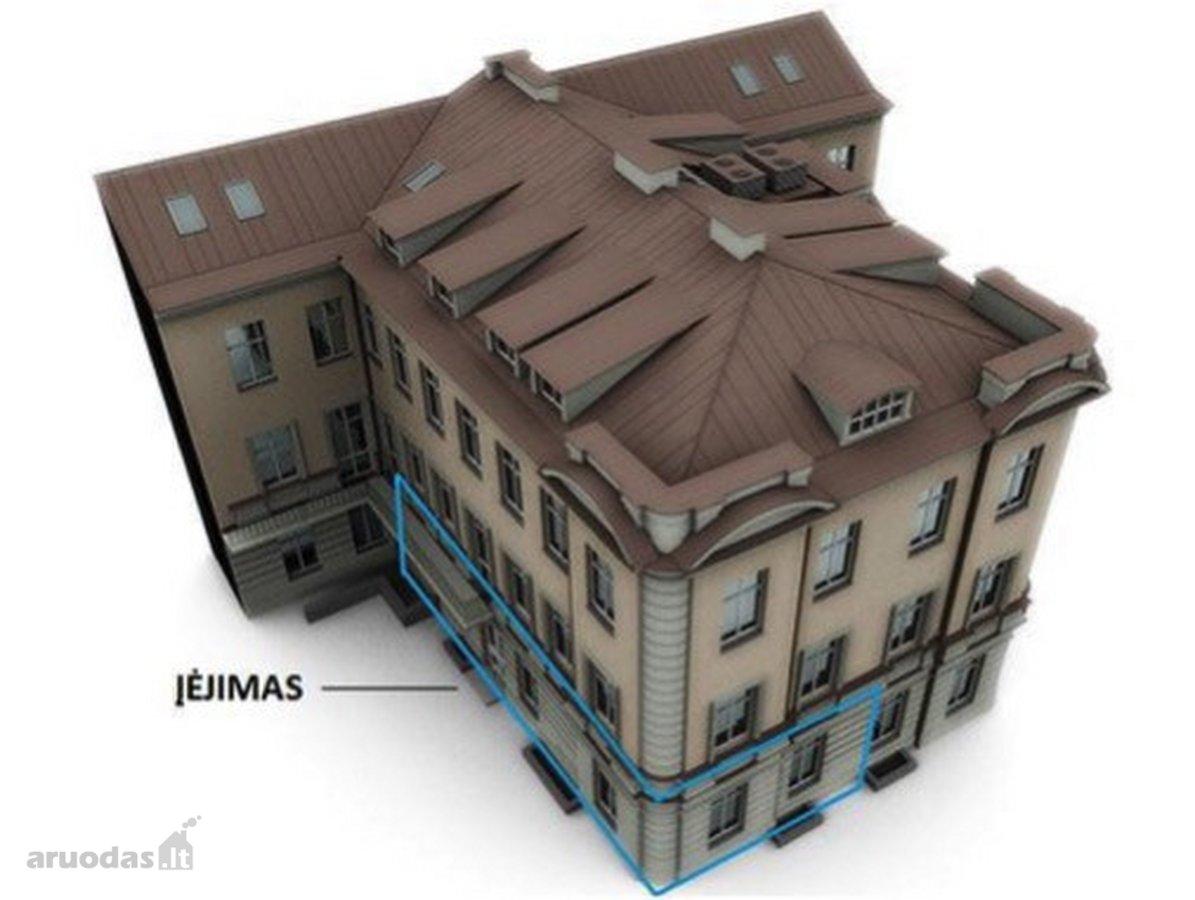 Vilnius, Senamiestis, Didžioji g., 4 kambarių butas