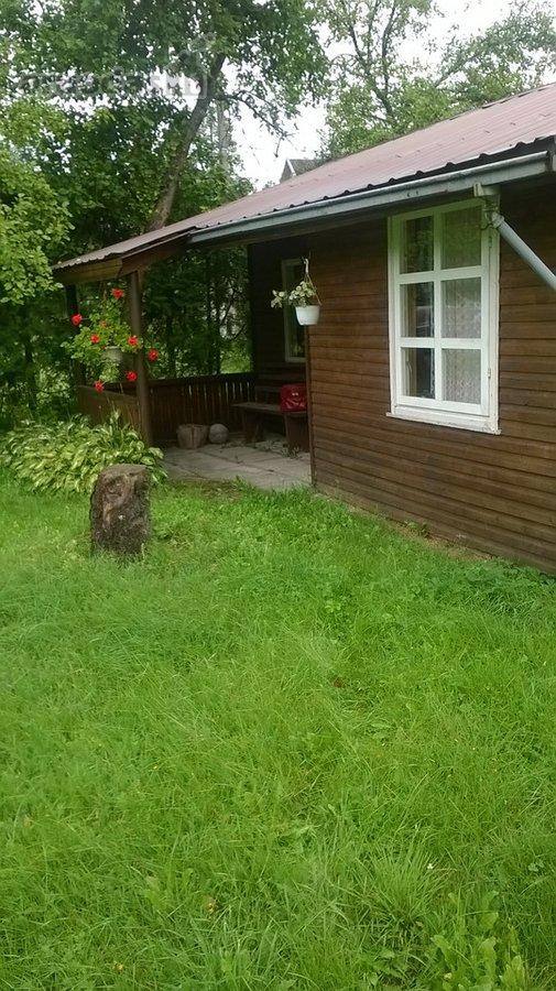 Kauno r. sav., Altoniškių k., karkasinis sodo namas