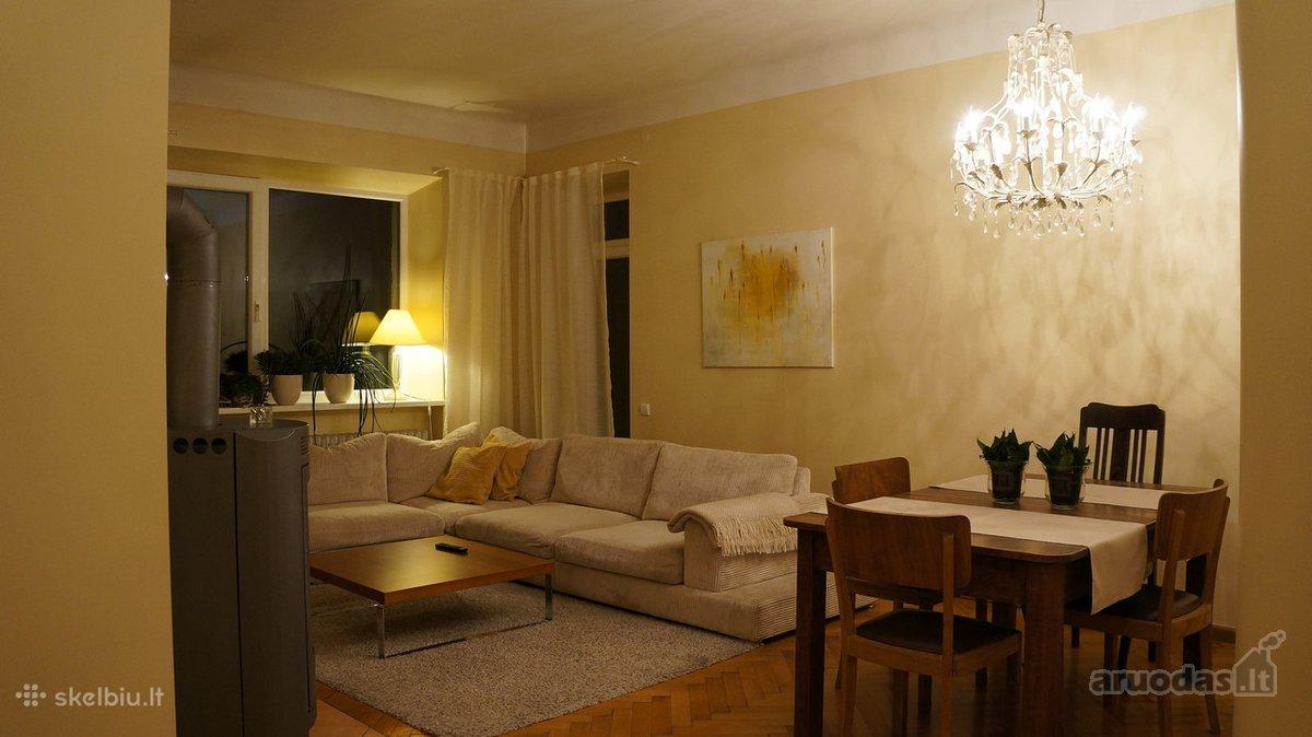 Kėdainių r. sav., Akademijos mstl., D. Rudzinsko g., 4 kambarių butas