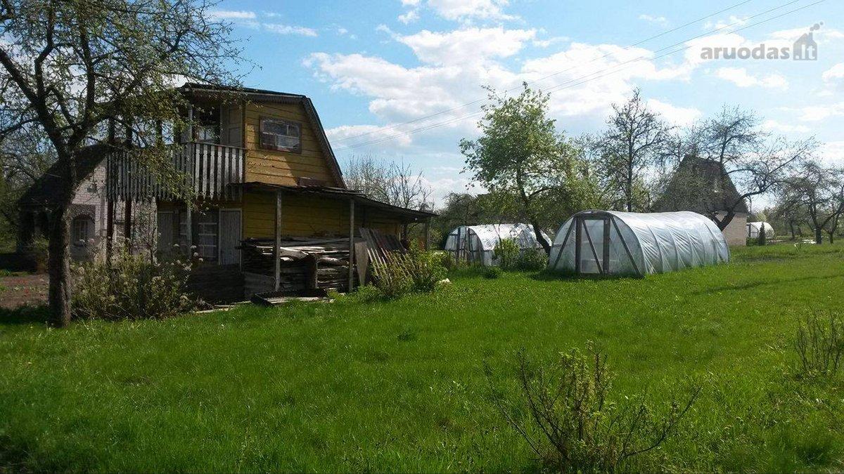 Ukmergės r. sav., Dukstynos k., Šilagėlių tak., karkasinis sodo namas
