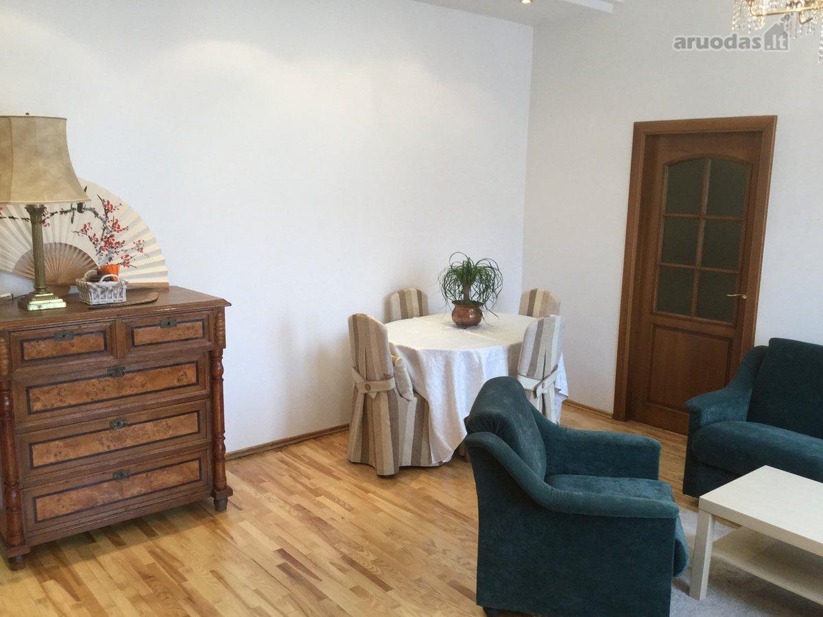 Vilnius, Senamiestis, Šv. Mikalojaus g., 2 kambarių buto nuoma