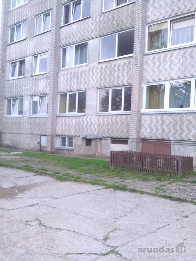 Kretingos r. sav., Kretingos m., Klaipėdos g., 2 kambarių butas