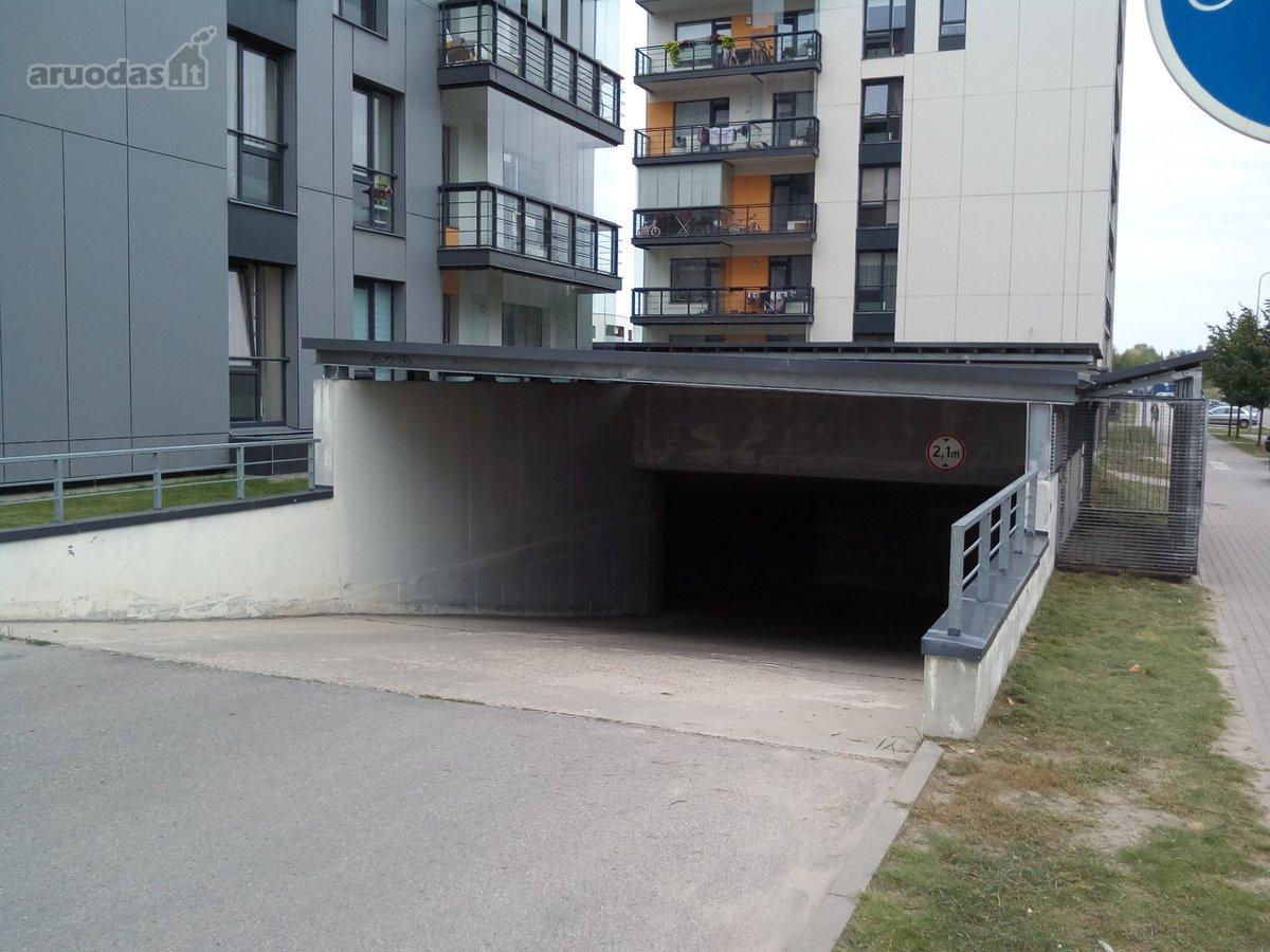 Vilnius, Pilaitė, M. Mažvydo g., požeminis garažas