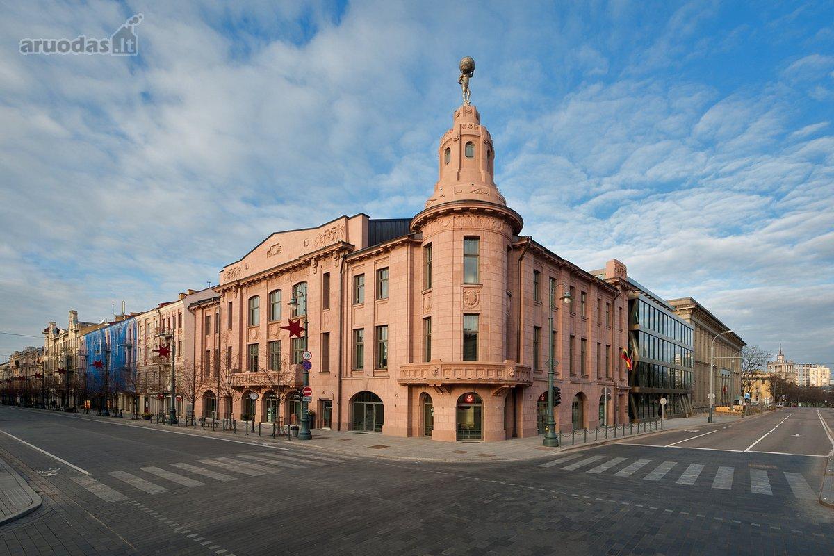 Vilnius, Senamiestis, Gedimino pr., biuro, paslaugų paskirties patalpos nuomai