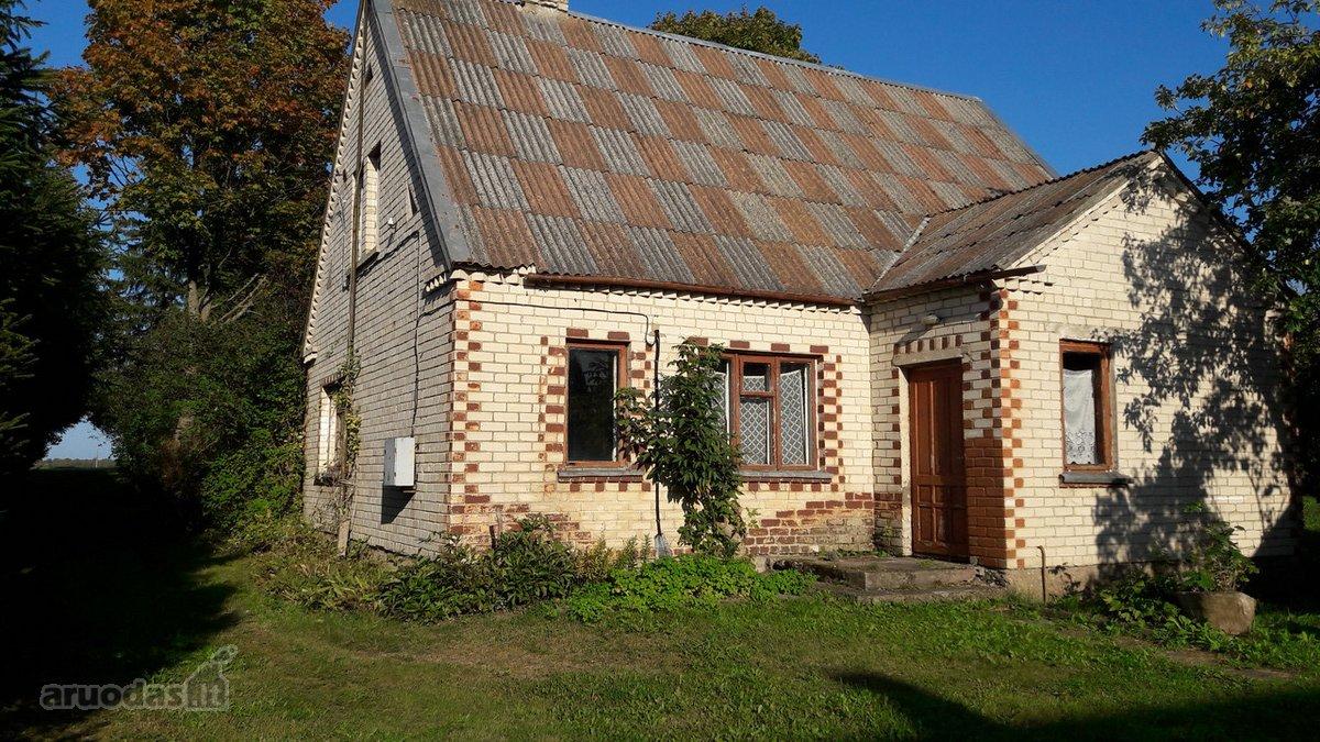 Biržų r. sav., Būginių k., Būginių g., mūrinis namas