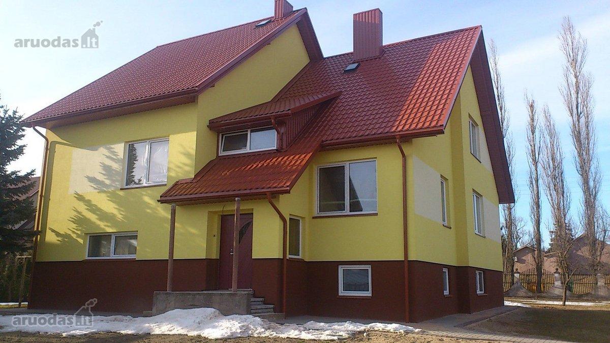 Tauragės m., Topolių g., mūrinis namas