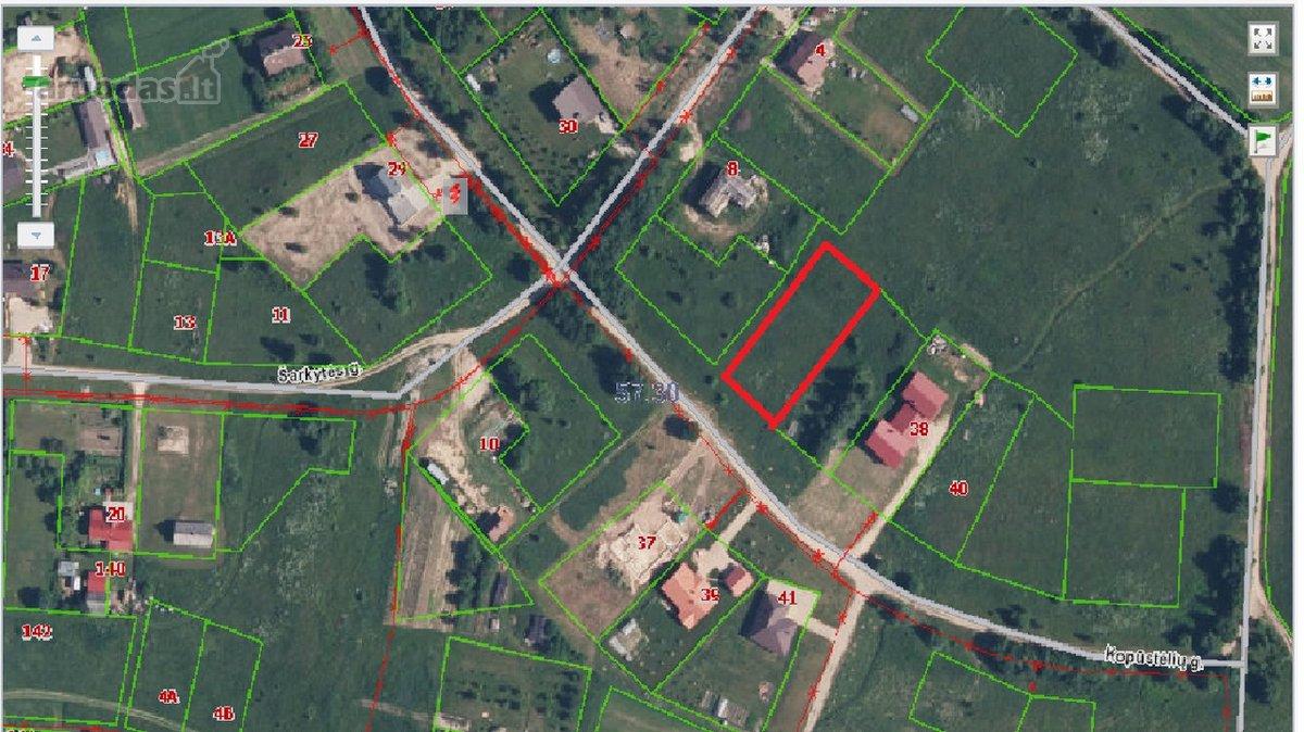 Vilnius, Pagiriai, namų valdos paskirties sklypas