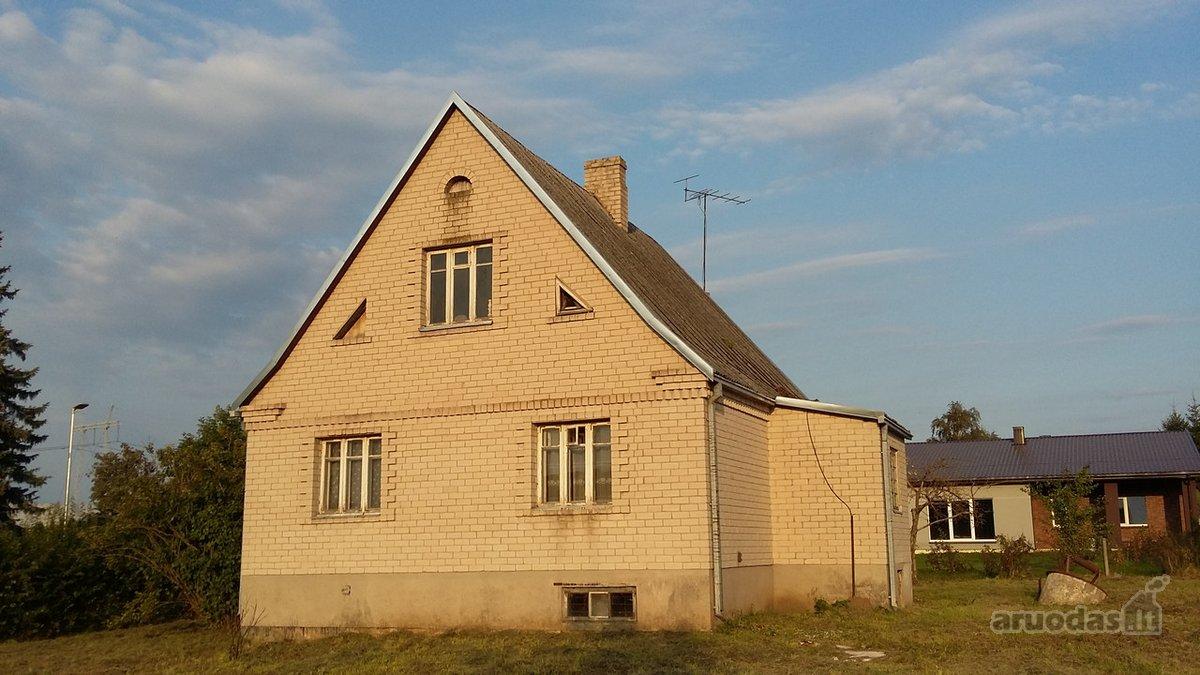 Kauno r. sav., Babtų mstl., Šilo g., mūrinis namas