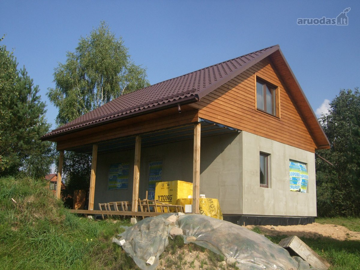 Vilniaus r. sav., Brinkiškių k., Bebrynės 2-oji g., mūrinis namas