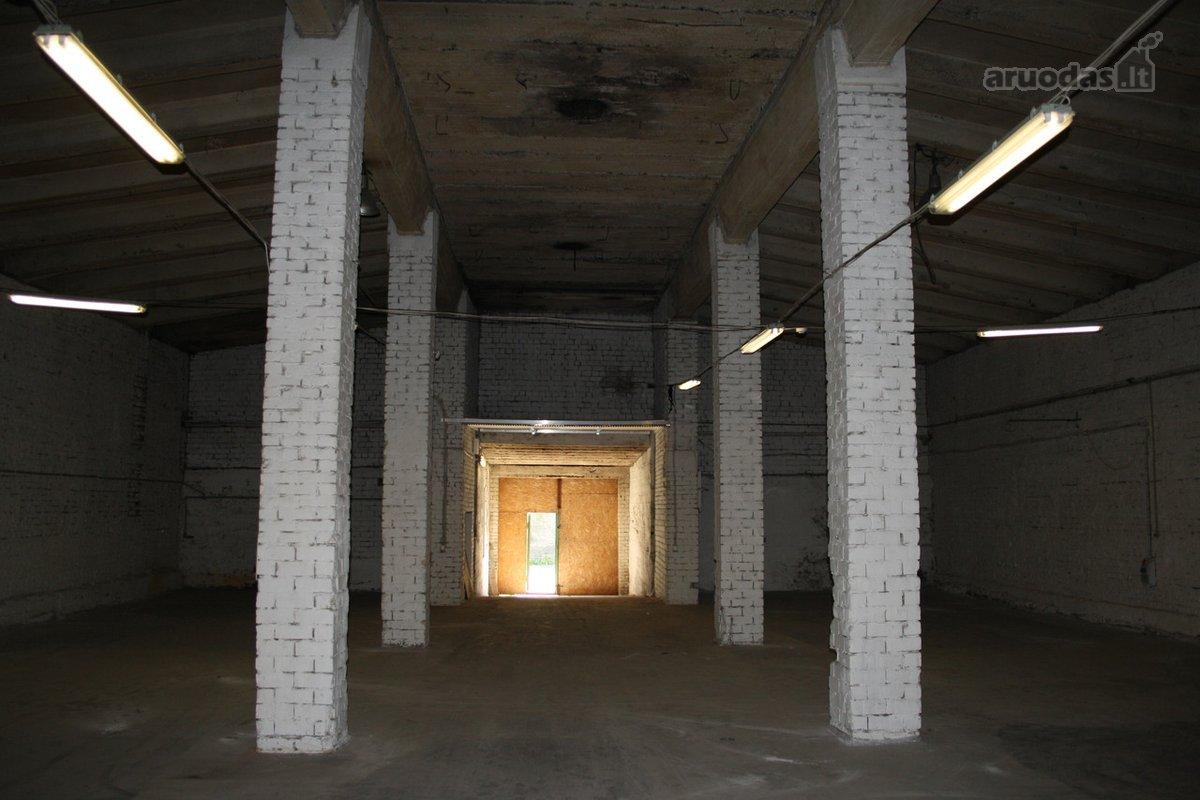 Vilnius, Kirtimai, Dariaus ir Girėno g., sandėliavimo, gamybinės paskirties patalpos nuomai