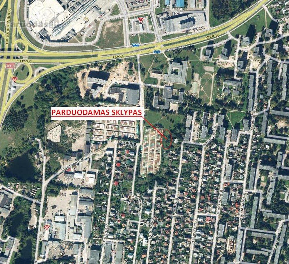 Vilnius, Kernavės g., daugiaaukštės statybos paskirties sklypas