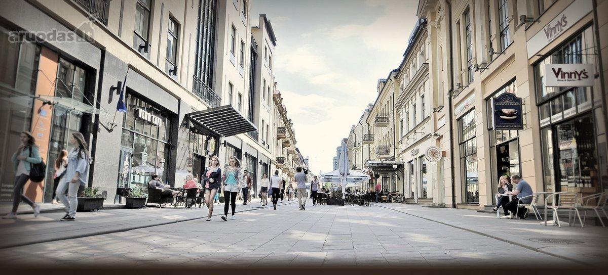 Vilnius, Senamiestis, Vilniaus g., prekybinės, paslaugų paskirties patalpos nuomai