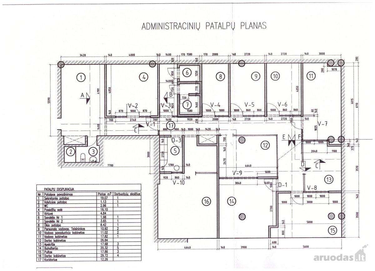 Vilnius, Žirmūnai, Ulonų g., biuro paskirties patalpos nuomai