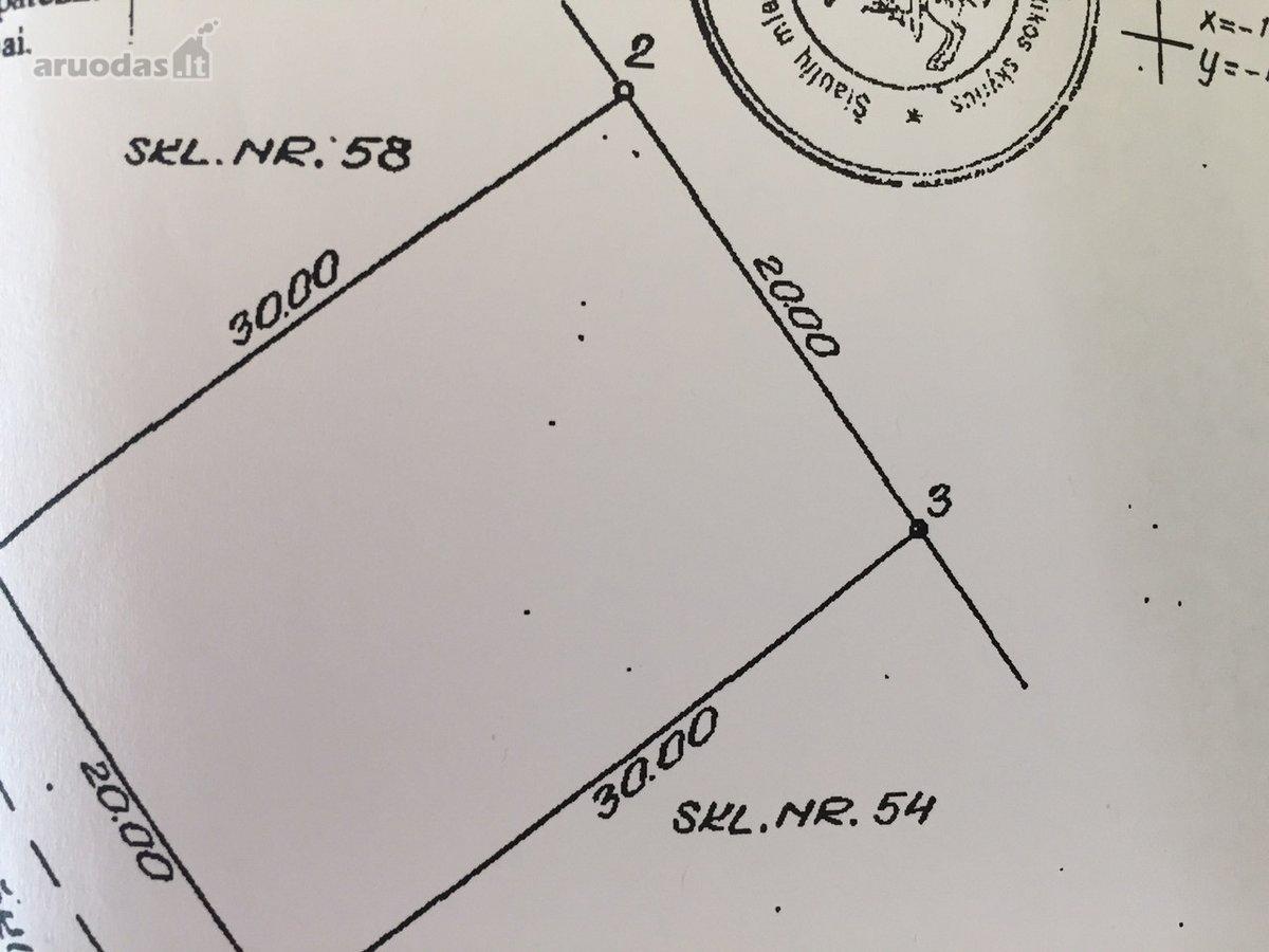 Šiauliai, Centras, Jono Žemaičio g., namų valdos paskirties sklypas