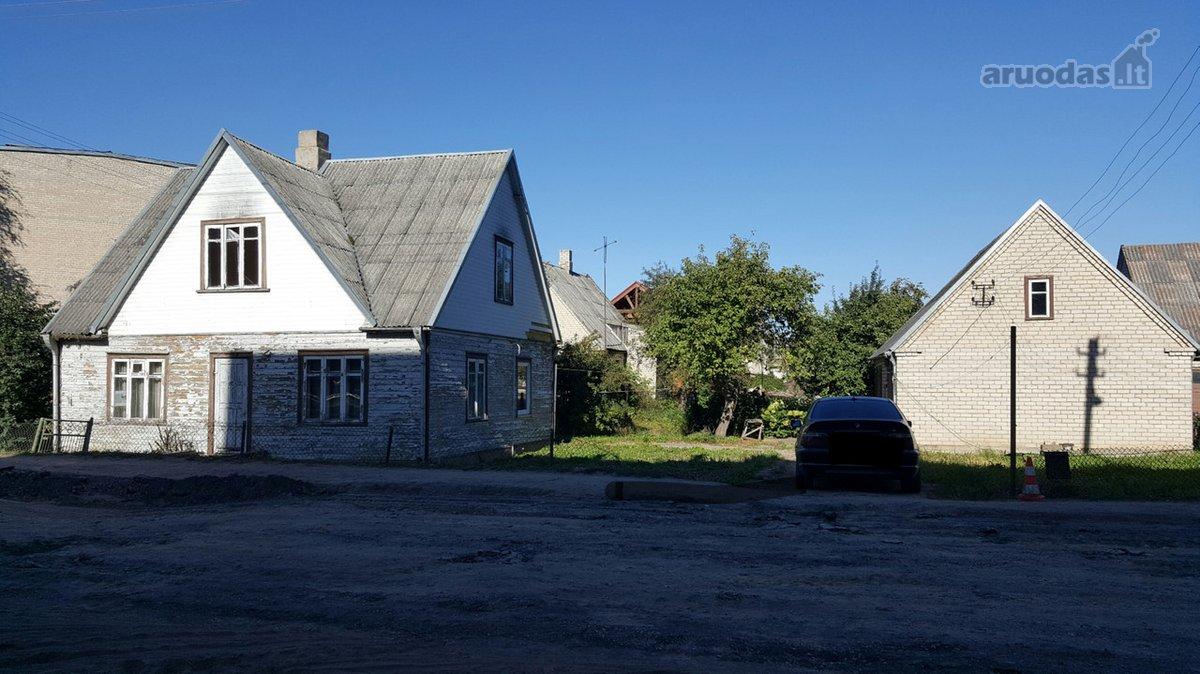 Radviliškio m., Vaisių g., medinis namas