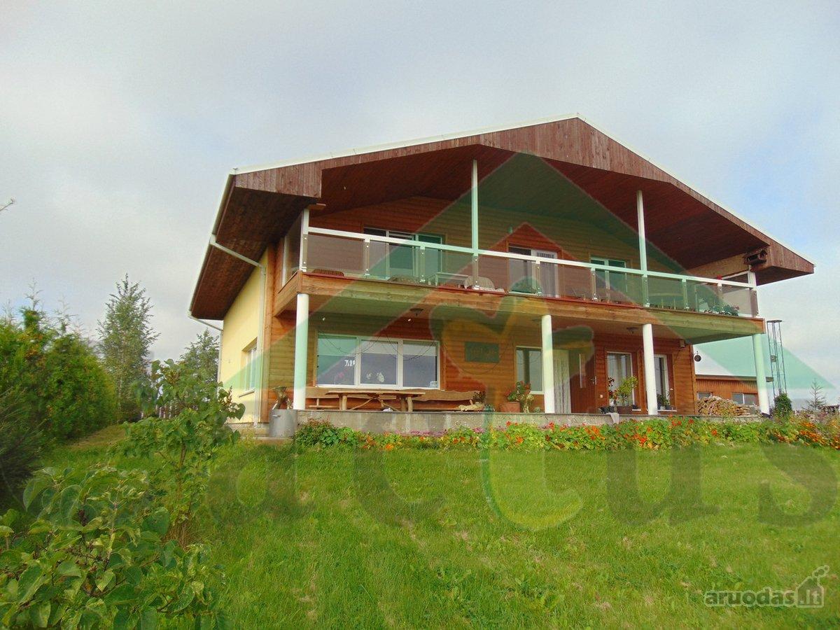 Alytaus r. sav., Talokių k., Ežero g., mūrinis namas