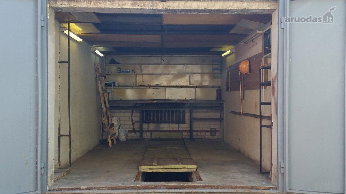 Vilnius, Naujamiestis, K. Donelaičio g., mūrinis garažo nuoma