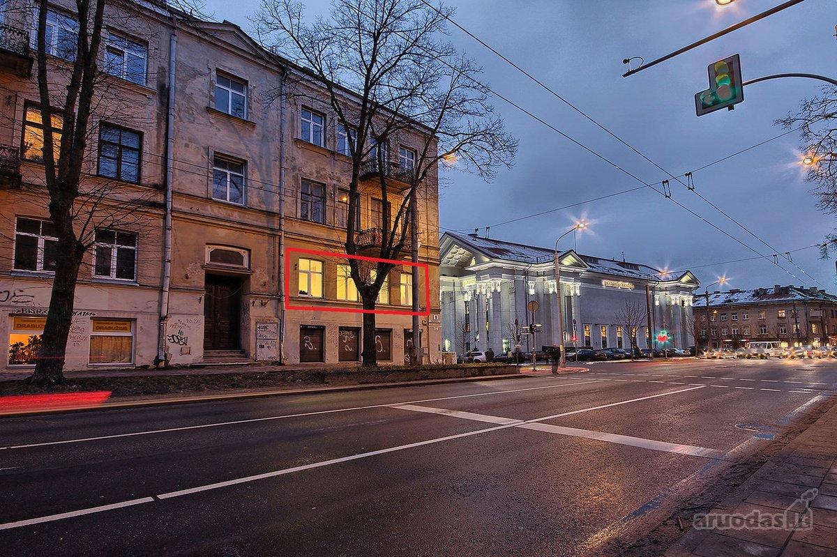 Vilnius, Senamiestis, Pamėnkalnio g., biuro, paslaugų paskirties patalpos nuomai