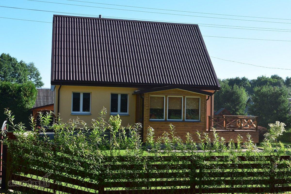 Rokiškio r. sav., Panemunio mstl., Sodų g., monolitinis namas