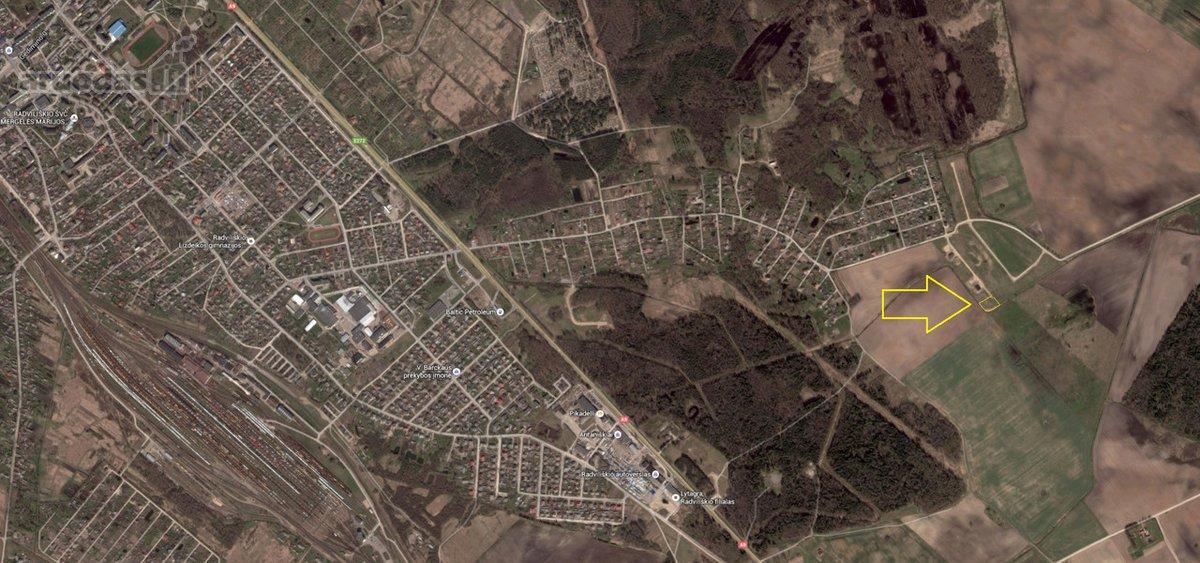 Radviliškio m., namų valdos paskirties sklypas
