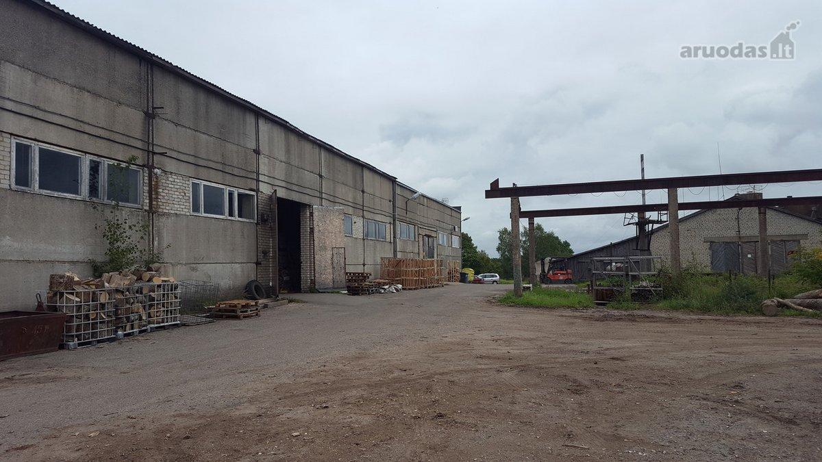 Anykščių m., Gegužės g., prekybinės, sandėliavimo, gamybinės paskirties patalpos