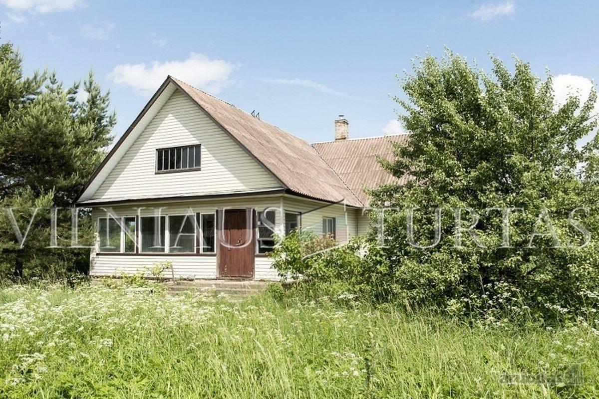 Vilniaus r. sav., Skaisterių k., rąstinis namas