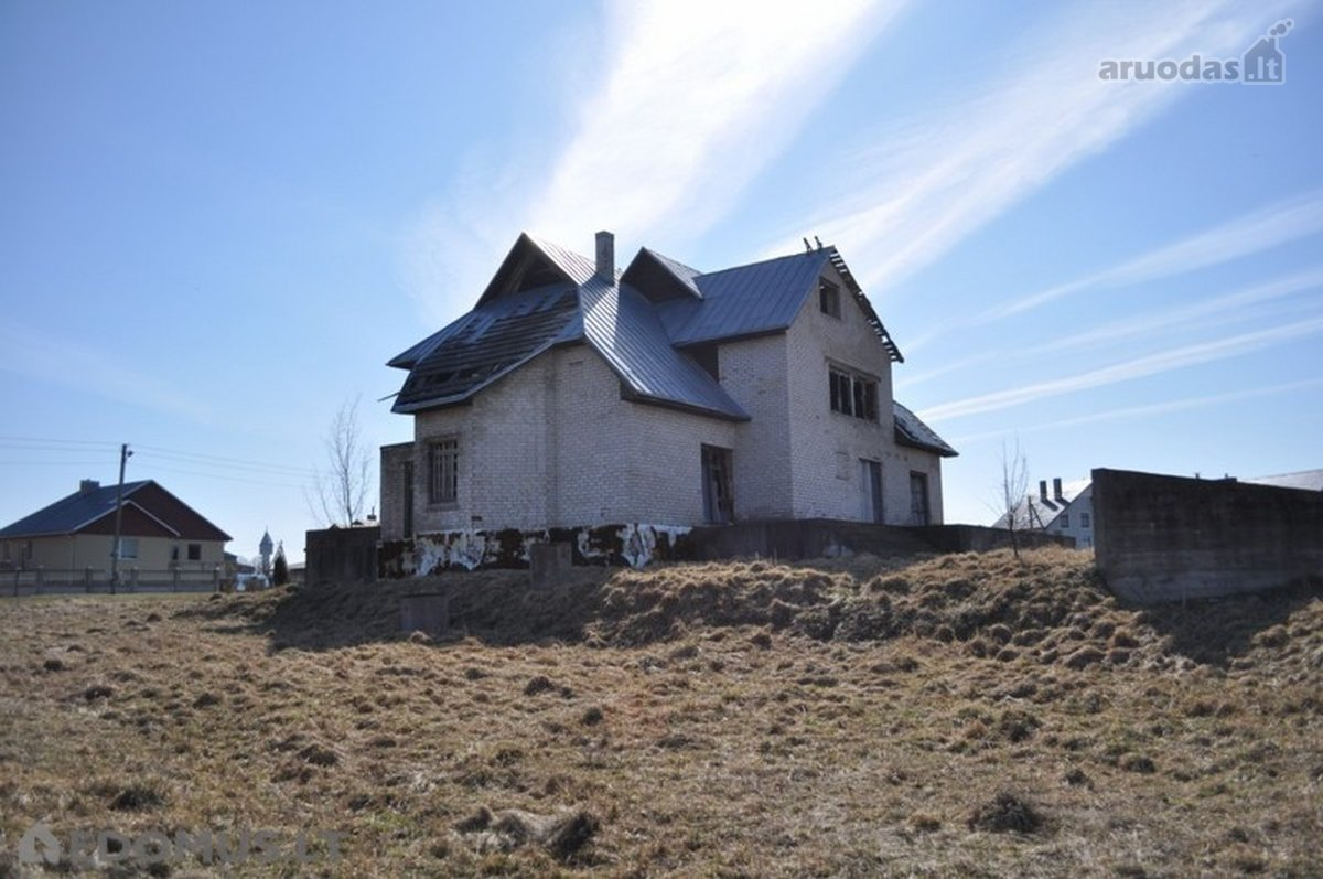 Kauno r. sav., Lapių mstl., Eglyno g., mūrinis namas