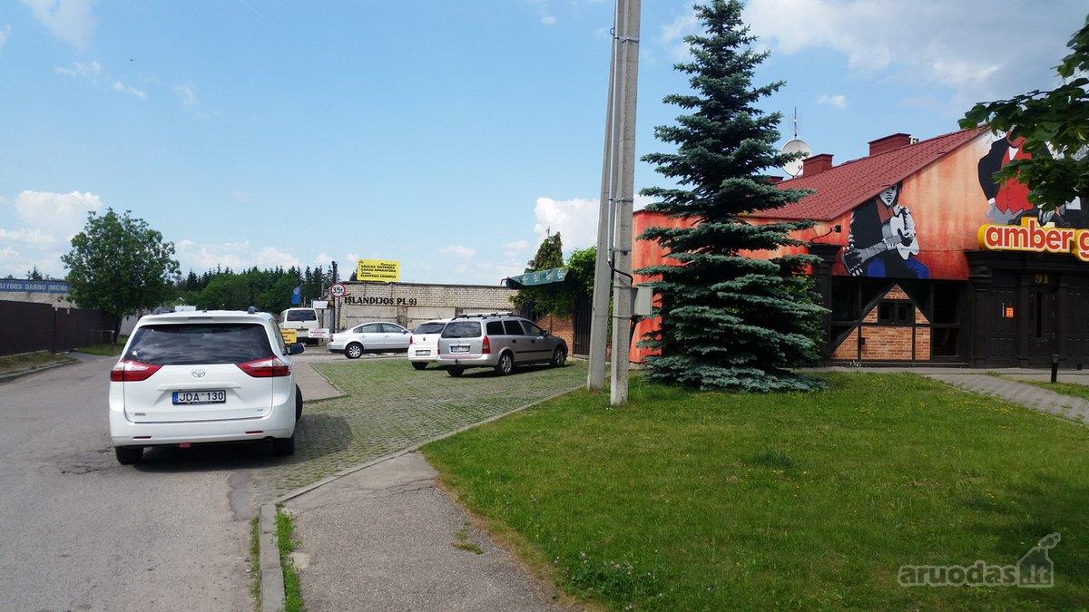 Kaunas, Kalniečiai, Islandijos pl., mūrinis garažas