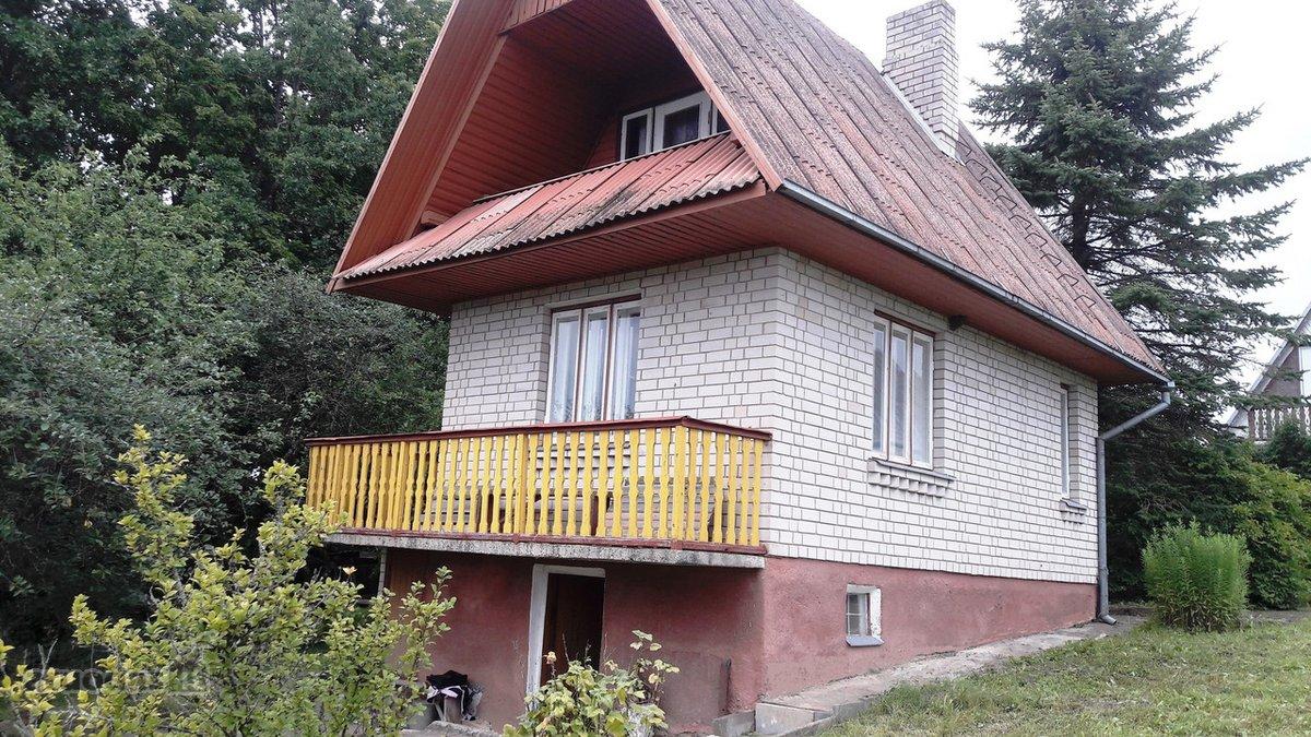 Utenos r. sav., Narkūnų k., mūrinis sodo namas