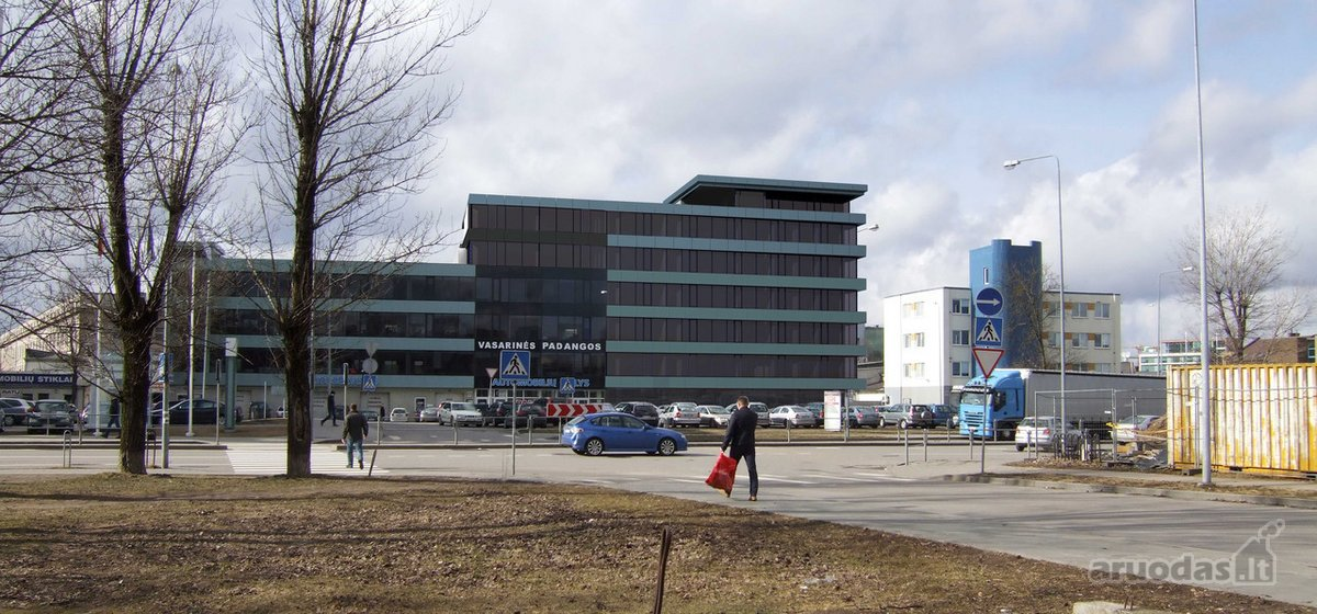 Vilnius, Šiaurės miestelis, Verkių g., biuro, prekybinės, paslaugų, kita paskirties patalpos nuomai