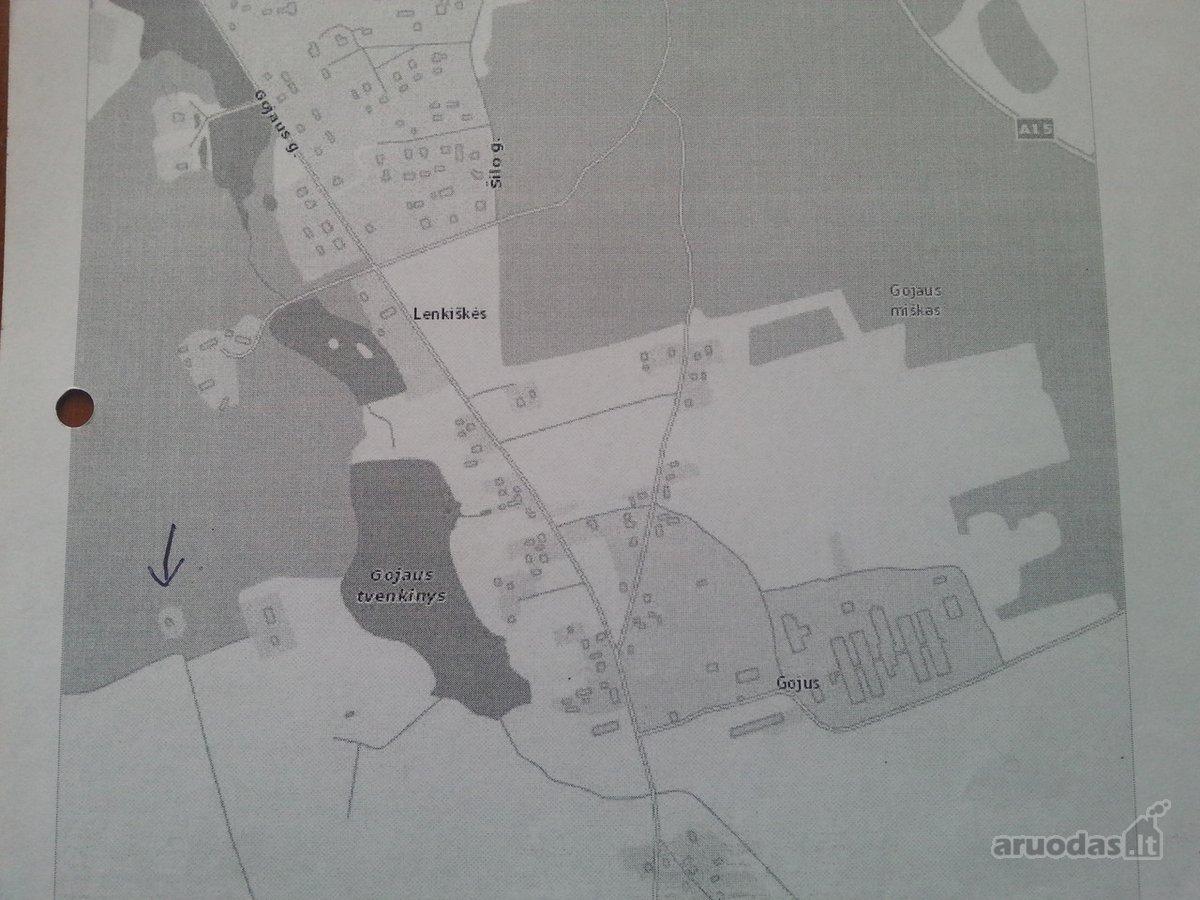 Šalčininkų r. sav., Jašiūnų mstl., miškų ūkio paskirties sklypas