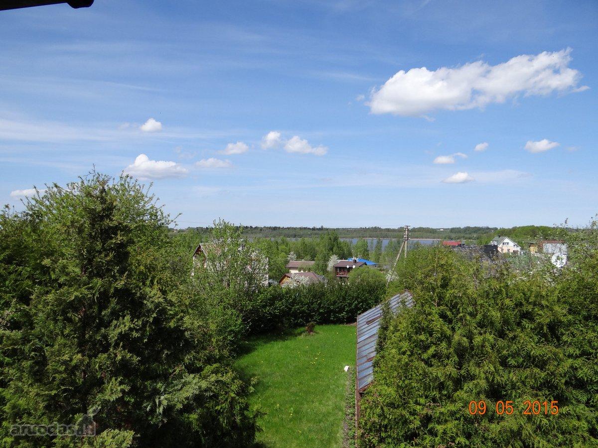 Vilniaus r. sav., Grikienių k., medinis sodo namas