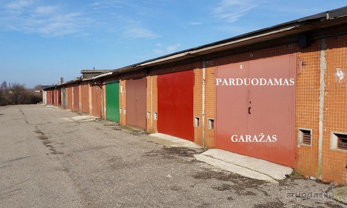 Klaipėda, Smeltė, Minijos g., mūrinis garažas