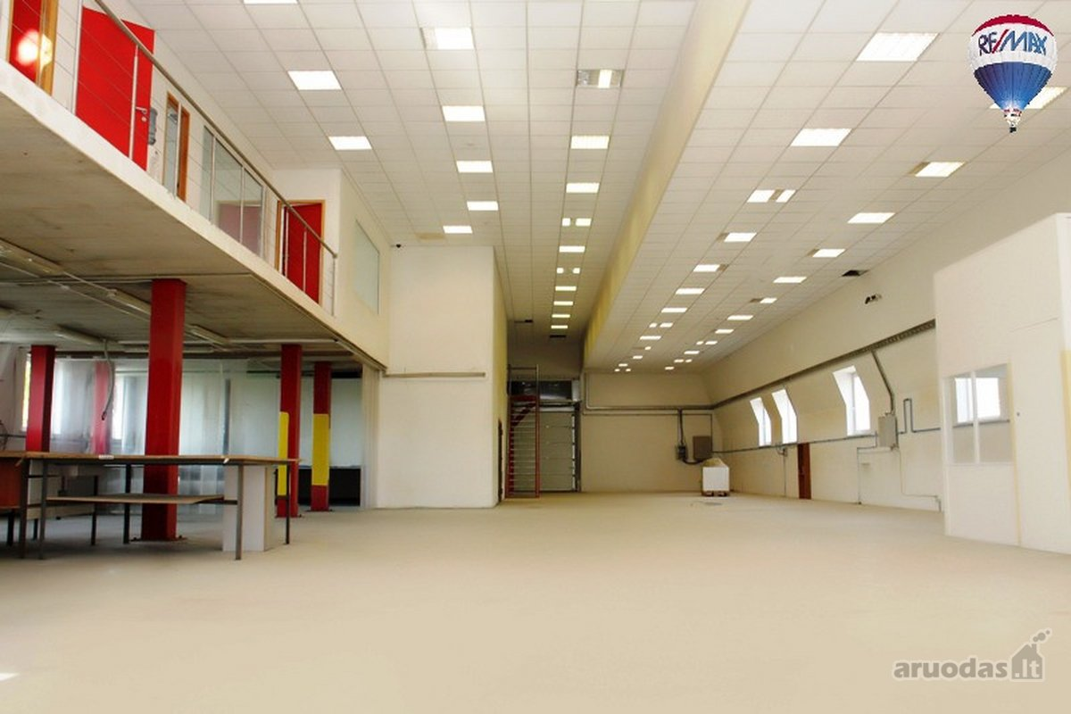 Vilnius, Aukštieji Paneriai, Sandėlių g., biuro, sandėliavimo, gamybinės paskirties patalpos nuomai