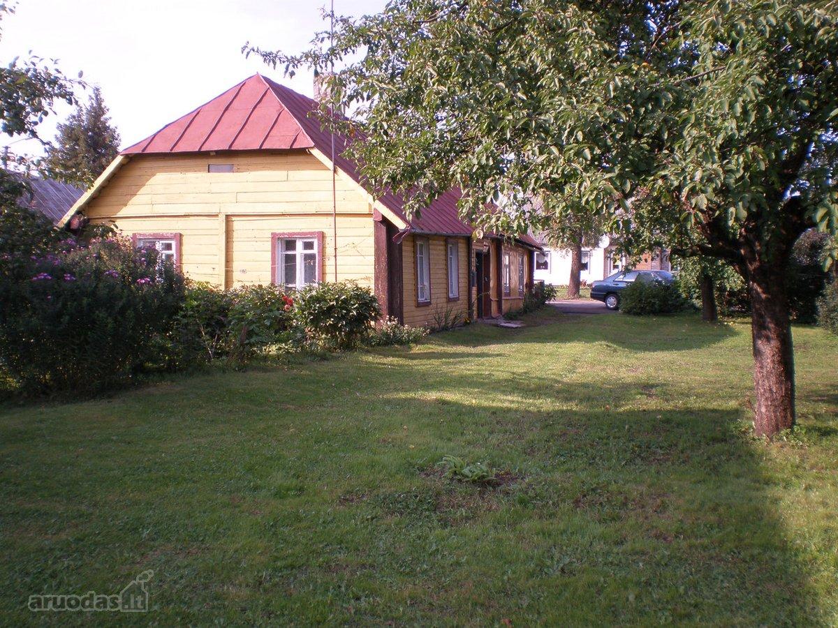 Rokiškio m., Pirties g., medinis namas