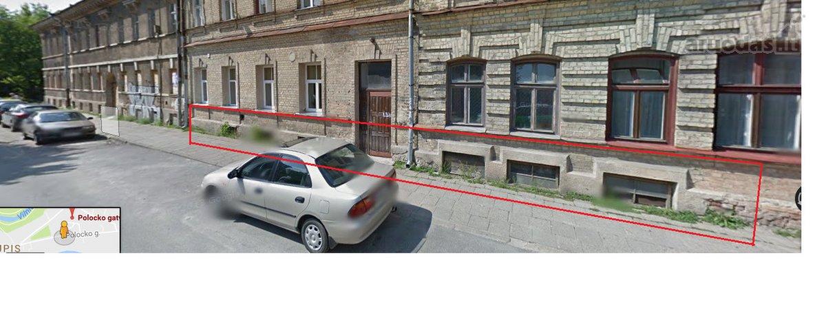 Vilnius, Užupis, Polocko g., biuro, prekybinės, viešbučių, paslaugų, sandėliavimo, gamybinės, kita paskirties patalpos
