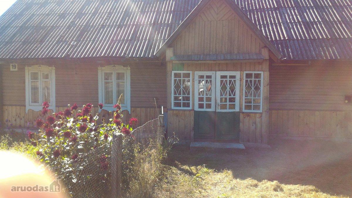Šalčininkų r. sav., Stakų k., Parko g., medinis namas