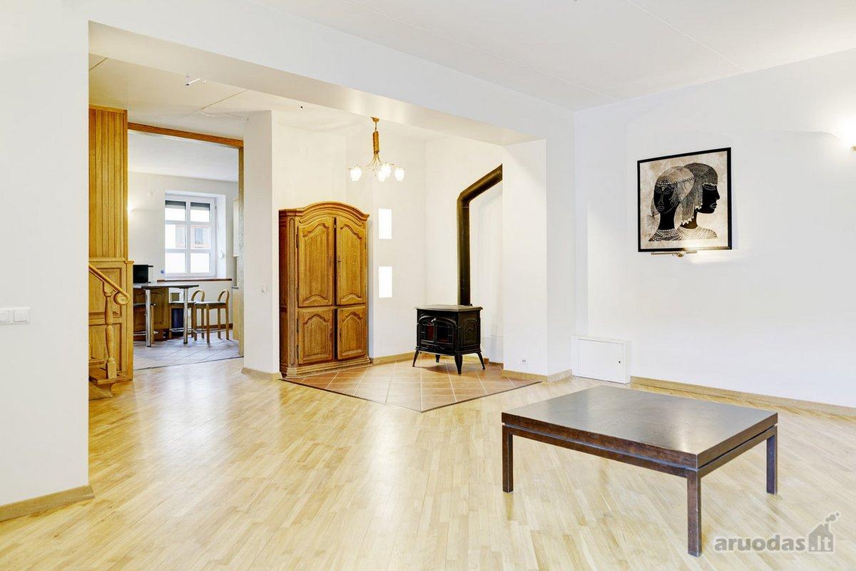 Vilnius, Senamiestis, Mėsinių g., 4 kambarių buto nuoma