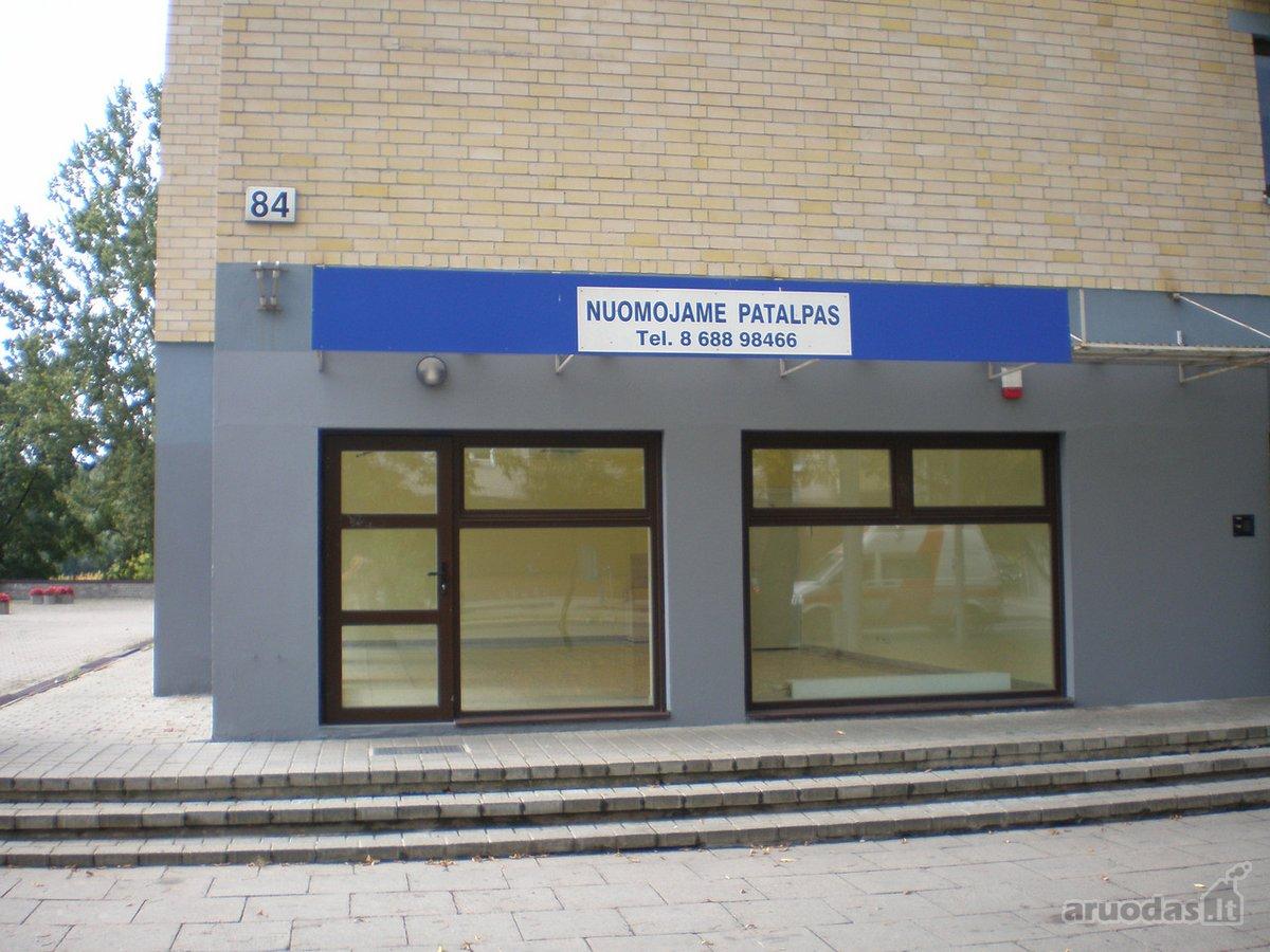 Vilnius, Antakalnis, Antakalnio g., paslaugų paskirties patalpos nuomai